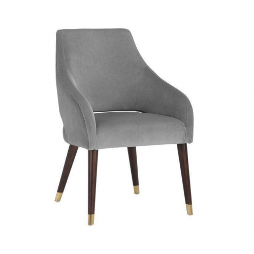 ADELAIDE DINING CHAIR  ANTIQUE BRASS