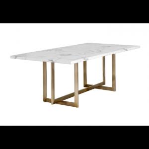"ROSELLEN DINING TABLE - 86.5"""
