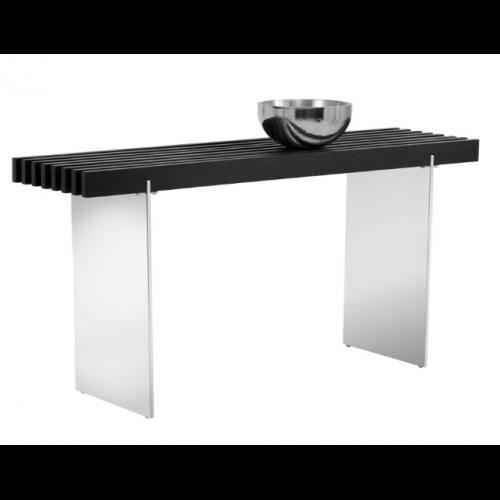ATTICUS CONSOLE TABLE - BLACK ASH